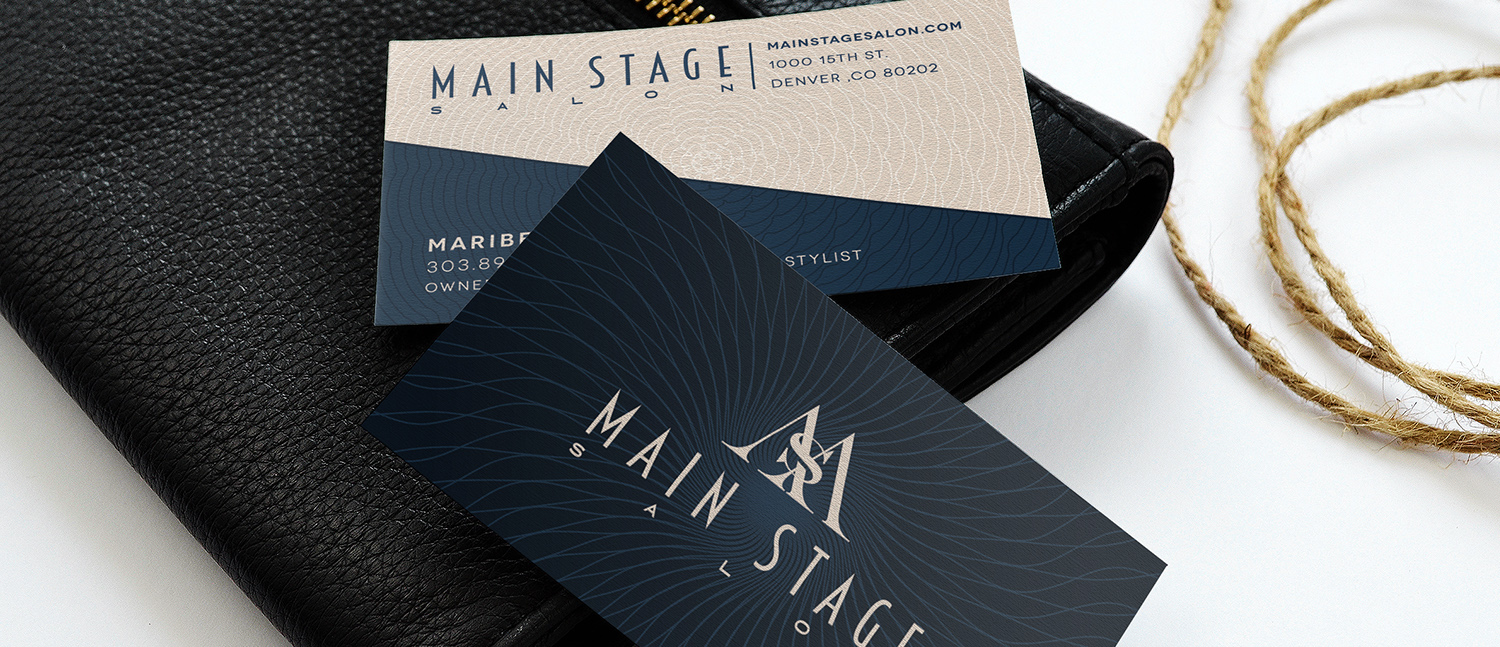 MAIN STAGE BUSINESS CARDS